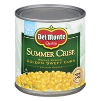 Del Monte Summer Crisp Corn Whole Kernel Golden Sweet