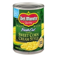 Del Monte Fresh Cut Corn Cream Style Sweet Golden