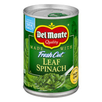 Del Monte Fresh Cut Spinach Leaf Sea Salt Non-GMO