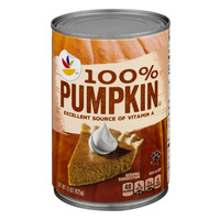 Stop & Shop 100% Pumpkin
