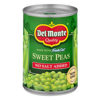 Del Monte Fresh Cut Sweet Peas No Salt Added