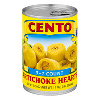 Cento Artichoke Hearts in Brine 5-7 ct