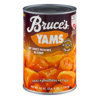 Bruce's Yams Sweet Potatoes in Syrup Cut