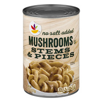 Stop & Shop Mushrooms Stems & Pieces No Salt Added
