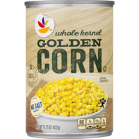 Stop & Shop Corn Whole Kernel Golden No Salt Added