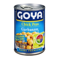 Goya Garbanzos Beans Chick Peas Low Sodium
