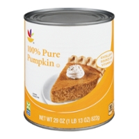 Stop & Shop Pumpkin 100% Pure