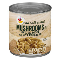 Stop & Shop Mushroms Stems & Pieces No Salt Added