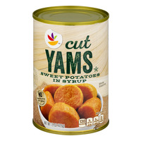 Stop & Shop Yams Cut in Syrup