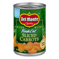 Del Monte Fresh Cut Sliced Carrots Sea Salt Non-GMO