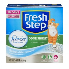 Fresh Step Odor Shield Clumping Cat Litter with Febreze Freshness
