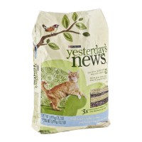 Purina Yesterday's News Cat Litter Softer Texture Fresh Scent