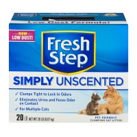 Fresh Step Simply Unscented Multi-Cat Clumping Cat Litter