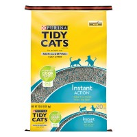 Purina Tidy Cats Instant Action Clay Cat Litter Non-Clumping Odor Control
