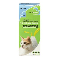 Van Ness Cat Pan Liners Drawstring Extra-Giant 36 in X 19 in