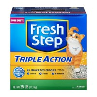 Fresh Step Triple Action Clumping Cat Litter Scented