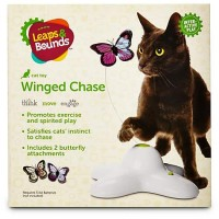 Leaps & Bounds Electric Flutter Butterfly Cat Toy