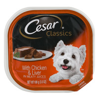 Cesar Classics Dog Food with Chicken & Liver