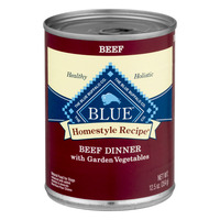 Blue Buffalo Wet Dog Food Adult Homestyle Beef Dinner w/Garden Vegetables