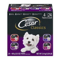 Cesar Classics Dog Food Variety Pack - 24 pk