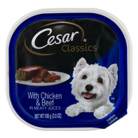 Cesar Classics Dog Food with Chicken & Beef