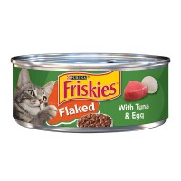 Friskies Wet Cat Food Flaked Tuna & Egg in Sauce