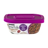 Purina Beneful Prepared Meals Dog Food Simmered Beef Entree