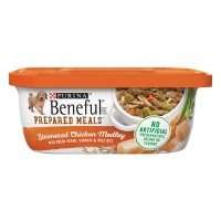 Purina Beneful Prepared Meals Dog Food Simmered Chicken Medley