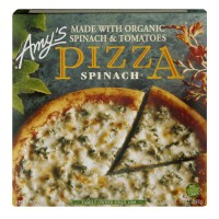 Amy's Pizza Spinach Organic Frozen