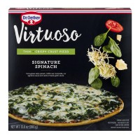 Dr. Oetker Virtuoso Pizza Signature Spinach Thin + Crispy Crust
