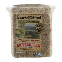 Boar's Head Deli Mozzarella Cheese Italian Herb (Thin Sliced)