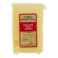 Boar's Head Simplicity Deli Imported Swiss Cheese (Regular Sliced)