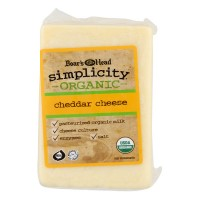 Boar's Head Simplicity Deli Cheddar Cheese Organic (Regular Sliced)