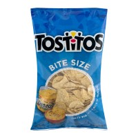 Tostitos Tortilla Chips Bite Size White Corn