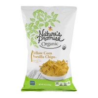 Nature's Promise Organic Tortilla Chips Yellow Corn
