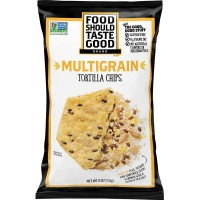 Food Should Taste Good Tortilla Chips Multigrain Gluten Free Non-GMO