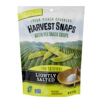 Harvest Snaps Green Pea Snack Crisps Lightly Salted