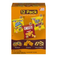 Keebler Variety Crackers & Cookies Snack Packs - 12 pk