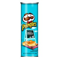 Pringles Potato Crisps Salt & Vinegar