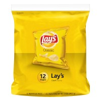 Lay's Potato Chips Classic Single Serve Packages - 12 pk