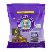 Pirate Brands Smart Puffs Real Cheddar All Natural - 6 pk