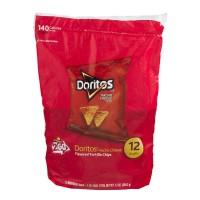 Doritos Tortilla Chips Nacho Cheese - 12 ct