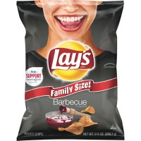 Lay's Potato Chips Barbecue Family Size