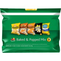 Frito Lay Baked and Popped Mix Variety Pack - 18 ct