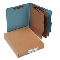 ACCO Recycled Classification Folder, 2 Parts, 10/Box (ACC15026)