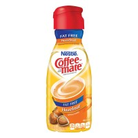 Nestle Coffee-mate Liquid Coffee Creamer Hazelnut Fat Free Refrigerated