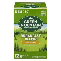 Green Mountain Breakfast Blend Light Roast Coffee K-Cups