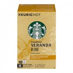 Starbucks Veranda Blend Blonde Roast Coffee K-Cups