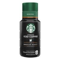 Starbucks Iced Coffee Beverage Medium Roast Unsweetened