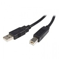 StarTech USB2HAB6 6ft USB 2.0 Certified A to B Cable, M/M